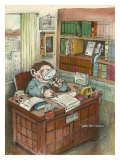 The Attorney Giclee Print by Gary Patterson