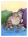 Fat Cat Giclee Print by Gary Patterson