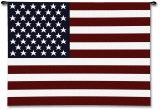 Bandera de los EE.UU. Tapiz