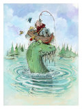 The Keeper Giclee Print by Gary Patterson