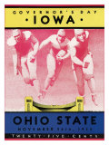 Ohio State vs. Iowa, 1934 Giclee Print