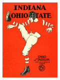 Ohio State vs. Indiana, 1924 Giclee Print