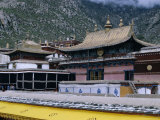 Upper Halls at Drepung Monastery, Lhasa, Tibet, China, Asia Photographic Print by Occidor Ltd