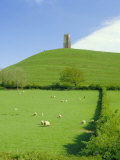 Glastonbury Tor, Glastonbury, Somerset, England, UK Photographic Print by Christopher Nicholson