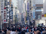 Busy Street in Seoul, South Korea, Korea, Asia Photographic Print by Alain Evrard