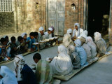 Koran Class in a Village, Guiranwala District, Punjab, Pakistan, Asia Photographic Print by Richard Ashworth