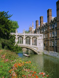 The Bridge of Sighs, St. John's College, Cambridge, Cambridgeshire, England, UK Photographic Print by Geoff Renner