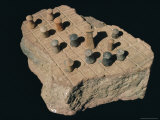 Board Game, Indus Valley Civilisation, Harappa Museum, Pakistan Photographic Print by Robert Harding