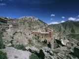 Rebuilding, Ganden Monastery, Tibet, China, Asia Photographic Print by Occidor Ltd