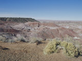 Painted Desert, Arizona, USA Photographic Print by Walter Rawlings