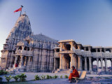 Temple at Somnath, One of the Most Sacred in India, Somnath, Gujarat, India Photographic Print by John Henry Claude Wilson
