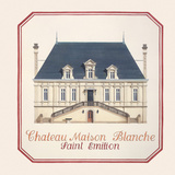 Chateau Maison Blanche Premium Giclee Print by Andras Kaldor