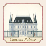 Chateau Palmer Premium Giclee Print by Andras Kaldor