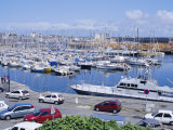 Yacht Harbour East of the Old Town of St. Malo, Brttany, France Photographic Print by Richard Ashworth