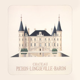 Chateau Pichon I Premium Giclee Print by Andras Kaldor