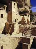 Cliff Palace, Mesa Verde, Anasazi Culture, Colorado, USA Photographic Print by Walter Rawlings