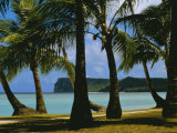 Beach View, Guam, Pacific Photographic Print by Ken Gillham