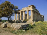 Temple E (5th Century BC), Selununte, Sicily, Italy Photographic Print by Richard Ashworth