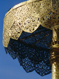 Close-up of a Gilded Metalwork Umbrella, Doi Suthep Temple, Chiang Mai, Thailand Photographic Print by Ken Gillham