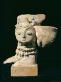 Mother Goddess Statue from Mohenjodaro, Indus Valley Civilisation, Karachi Museum, Pakistan Photographic Print by Robert Harding