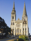 Chartres Cathedral, Chartres, Centre, France, Europe Photographic Print by Peter Scholey