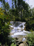 Dunns River Falls, Jamaica, Caribbean, West Indies, Central America Photographic Print by Robert Harding
