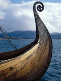Oseberg Replica Viking Ship, Norway Photographic Print by David Lomax