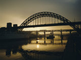 Tyne Bridge, Newcastle-Upon-Tyne, Tyneside, England, UK, Europe Photographic Print by Geoff Renner