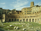 Markets of Trajan, 2nd Century AD, Comprising 150 Shops, Rome, Italy Photographic Print by Richard Ashworth
