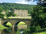 Chatsworth House, Derbyshire, England, UK Photographic Print by Peter Scholey