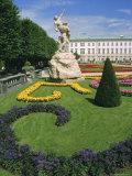 Mirabell Gardens and Schloss Mirabell, Salzburg, Austria, Europe Photographic Print by Ken Gillham