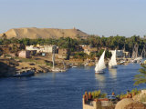 Elephantine Island and River Nile, Aswan, Egypt, North Africa Fotografie-Druck von Robert Harding