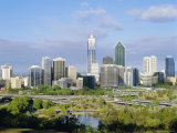 City Skyline, Perth, Western Australia, Australia Photographic Print by Peter Scholey