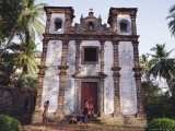 A Deserted Church in Goa, India Photographic Print by John Henry Claude Wilson