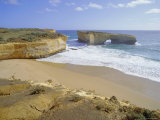 Rock Formation Known as London Bridge, Great Ocean Road, Victoria, Australia Photographic Print by Peter Scholey