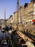 St. Catherine's Quay, Old Harbour, Honfleur, Basse Normandie (Normandy), France, Europe Photographic Print by Richard Ashworth