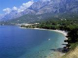 Central Dalmatian Coastline Known as Makarska Riviera, Dalmatia, Croatia, Europe Photographic Print by Tony Gervis