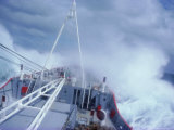 Rrs Bransfield in Rough Seas En Route to Antarctica, Polar Regions Photographic Print by Geoff Renner