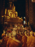 Temple of the Golden Buddha, Bangkok, Thailand, Asia Photographic Print by David Lomax