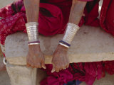 Siver Bracelets, Jodpur, Rajasthan, India Photographic Print by Robert Harding