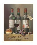 Saint Emillion 1985 Premium Giclee Print by Raymond Campbell