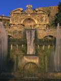 Grand Fountain in the Gardens of the Villa d'Este, Unesco World Heritage Site, Tivoli, Lazio, Italy Photographic Print by Michael Newton