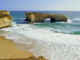 London Bridge, Coastal Feature Along the Great Ocean Road, Victoria, Australia Photographic Print by Peter Scholey