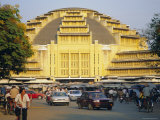 The Central Market in Phnom Penh, Cambodia Photographic Print by Tim Hall