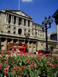The Bank of England, Threadneedle Street, City of London, England, UK Photographic Print by Walter Rawlings