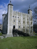 The White Tower, Tower of London, Unesco World Heritage Site, London Photographic Print by Walter Rawlings