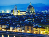 La Badia, San Lorenzo, Cathedral and Campanile, Florence, Italy Photographic Print by Peter Scholey