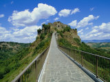 Civita, Umbria, Italy, Europe Photographic Print by Tim Hall