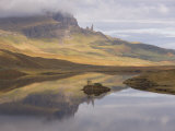 Loch Leathan, the Old Man of Storr, Isle of Skye, Inner Hebrides, West Coast, Scotland, UK Photographic Print by Gavin Hellier