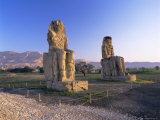Colossi of Memnon, West Bank, Thebes, Luxor, Egypt, North Africa, Africa Photographic Print by Gavin Hellier